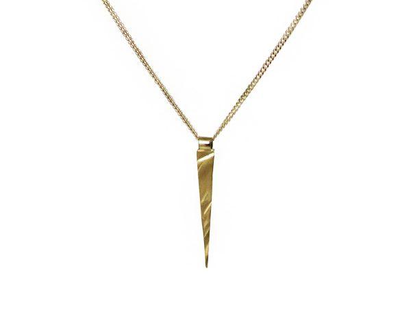 Long Gold Pendant