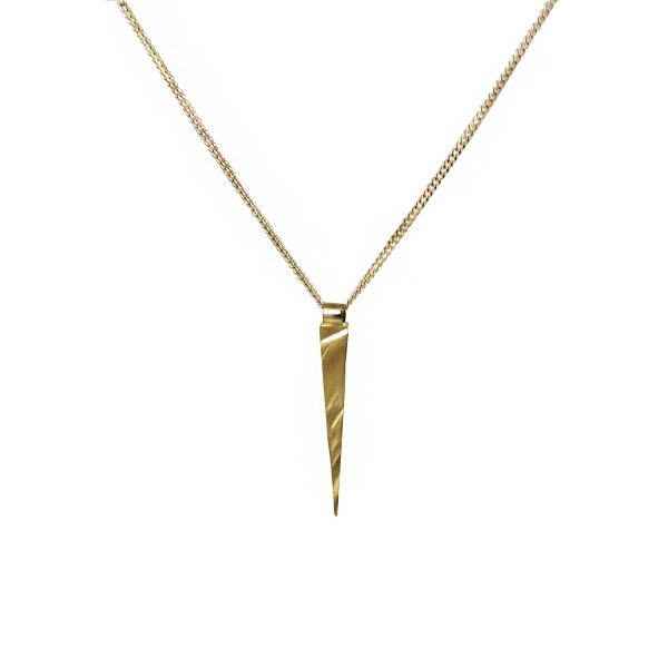 Long Gold Pendant