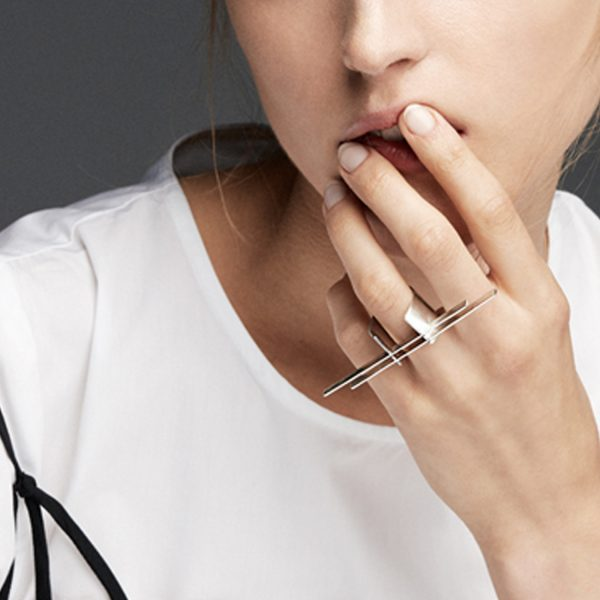Contemporary Statement Ring