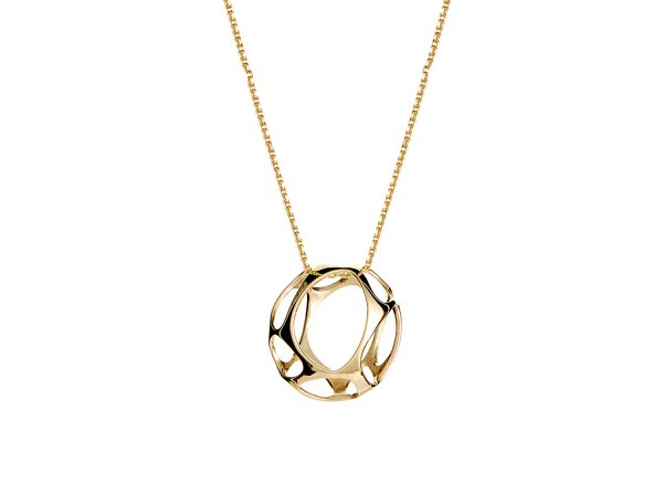 Plexus small gold pendant solid 9ct gold plexus small gold pendant solid 9ct gold aloadofball