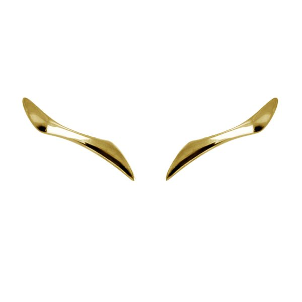 Gold modern Earrings