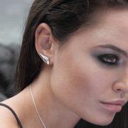 Silver Siren Earring