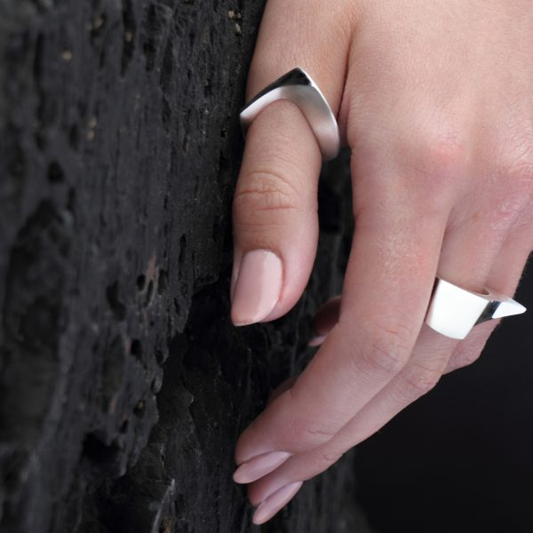 Modern Curved Ring
