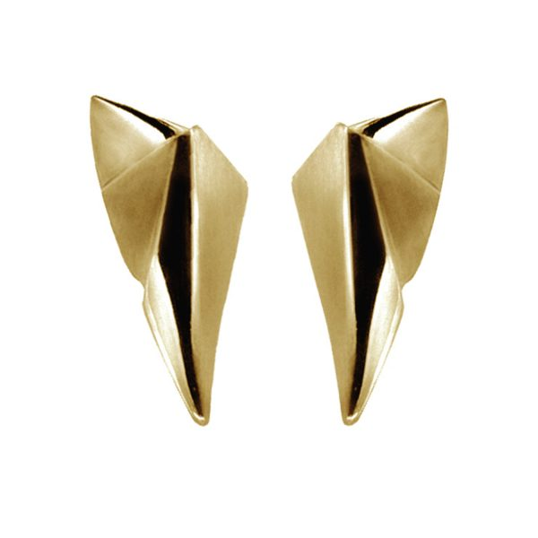 Modern Gold Earrings