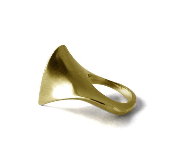 Gold Sculptural Ring